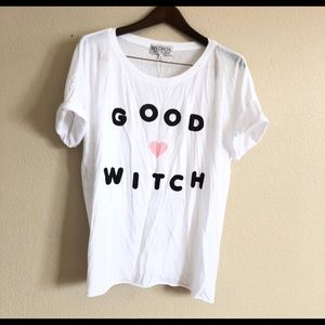 Wildfox || NWT Good Witch Tee Shirt Top